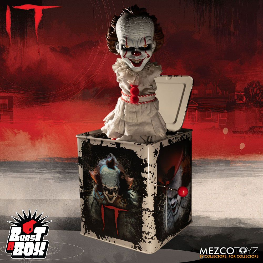 Stephen King S It 2017 Burst A Box Music Box Pennywise 36 Cm