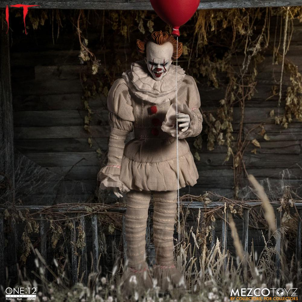 Stephen Kings It 2017 Action Figure 1 12 Pennywise 17 Cm
