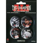 The Champion Muhammad Ali Badge Pack