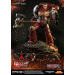 Warhammer 40K Dawn of War III Statue Space Marine Blood Ravens Deluxe Ver. 72 cm