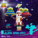 Toy Story D-Stage PVC Diorama Alien Spin Ufo 16 cm