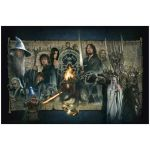 Lord of the Rings Fine Art Print Giclee The Fellowship of the Ring 61 x 91 cm