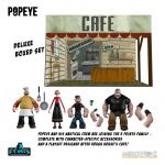 Popeye 5 Points Action Figures Deluxe Box Set 9 cm